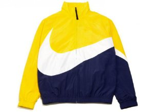 "NIKE - Jaqueta Big Swoosh ""Yellow"""