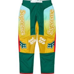 "Supreme x Fox Racing x Honda - Calça Racing Moto ""Moss"""