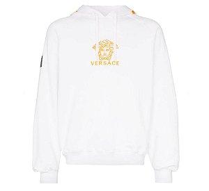 """VERSACE - Moletom Medusa Logo """"White"""""""