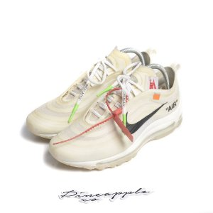 "NIKE x OFF-WHITE - Air Max 97 OG ""White"" -USADO-"