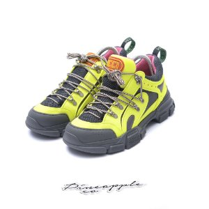 "GUCCI - Flashtrek SEGA ""Reflective Yellow"" -USADO-"