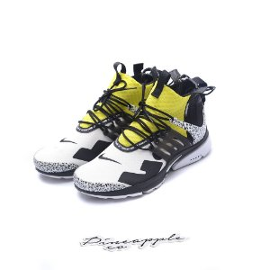 "Nike Air Presto Mid x Acronym ""Dynamic Yellow"" -USADO-"