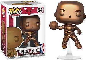 FUNKO POP! - Boneco Michael Jordan Bulls (Bronzed) #54
