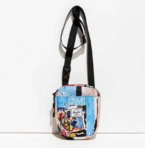 "Herschel Supply Co. X Basquiat - Bolsa Shoulder ""Multicolor"""