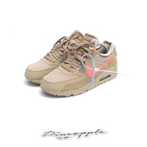 "NIKE x OFF-WHITE - Air Max 90 ""Desert Ore"" -USADO-"