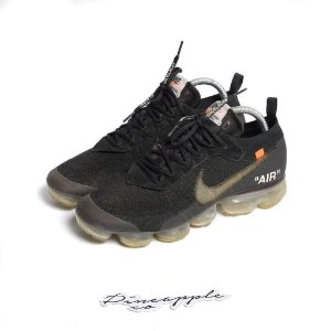 "!NIKE x OFF-WHITE - Air VaporMax ""Black/Clear"" -USADO-"