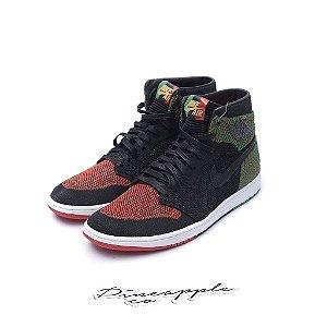"Nike Air Jordan 1 Retro Flyknit ""BHM"" (2018)"