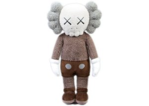 "KAWS - Pelúcia Holiday Hong Kong ""Brown"""