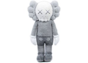 "KAWS - Pelúcia Holiday Hong Kong ""Grey"""