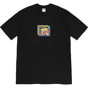 "SUPREME - Camiseta Cheese ""Black"""