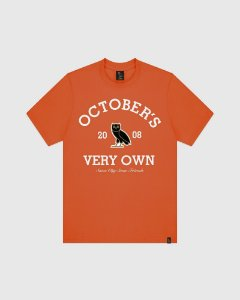 "OVO - Camiseta Collegiate Arch ""Orange"""