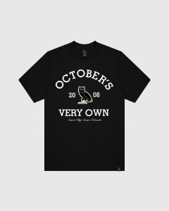 "OVO - Camiseta Collegiate Arch ""Black"""