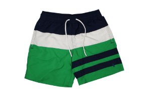 "Polo Ralph Lauren - Bermuda Swim Stripe ""Navy/White/Green"""