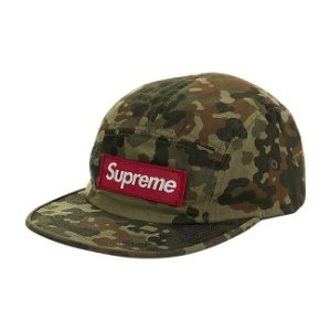 "SUPREME - Boné Military Camp Camo ""Green"""