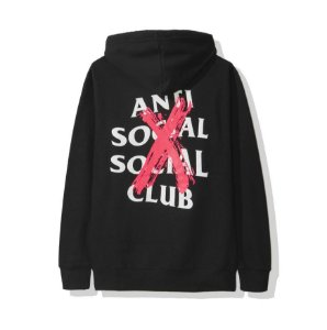"ANTI SOCIAL SOCIAL CLUB - Moletom Cancelled ""Black"""