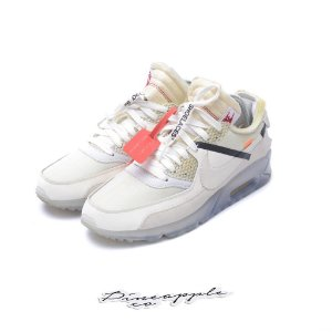 "Nike Air Max 90 x OFF-WHITE ""White"" -USADO-"