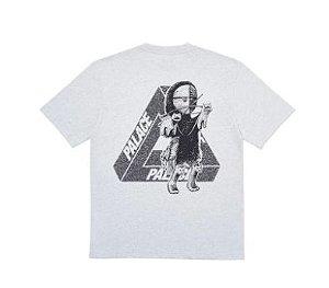 """PALACE - Camiseta U Figure """"Grey Marl"""""""