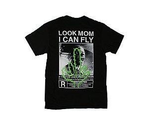 "TRAVIS SCOTT - Camiseta Look Mom I Can Fly ""Black"""
