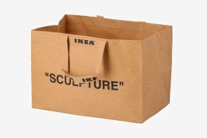 "ENCOMENDA - IKEA X VIRGIL ABLOH - Ecobag ""Sculpture"""