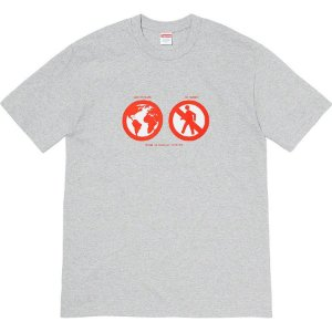 "SUPREME - Camiseta Save The Planet ""Cinza""-NOVO-"