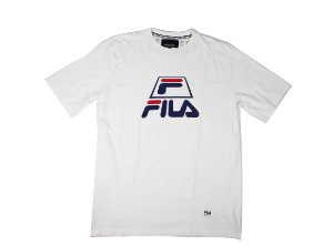 "FILA - Camiseta Black Line ""Branco"" -NOVO-"