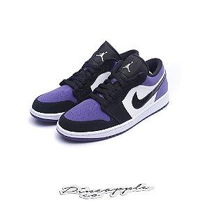 """Nike Air Jordan 1 Low """"Court Purple"""""""