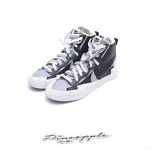 """Nike Blazer Mid x sacai """"Black/Wolf Grey"""""""