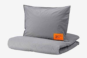 "IKEA X VIRGIL ABLOH - Fronha + Edredom ""Grey"""
