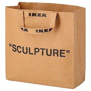 "IKEA X VIRGIL ABLOH - Ecobag ""Sculpture"" (Média)"
