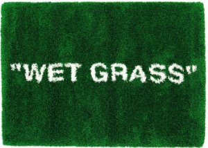 "IKEA x VIRGIL ABLOH - Tapete ""WET GRASS"""