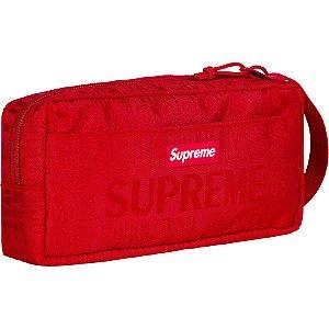 """SUPREME - Bolsa Necessaire Utility SS19 """"Red"""""""