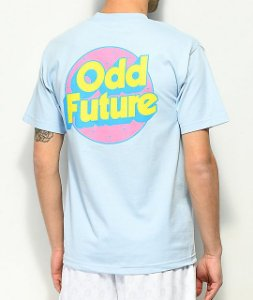 "ODD Future - Camiseta Retro Logo ""Light Blue"""