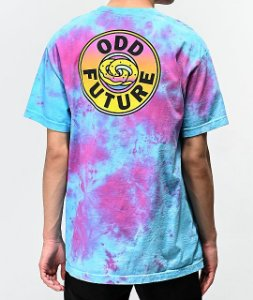 "ODD Future - Camiseta Gradient Lock Up ""Tie Dye"""