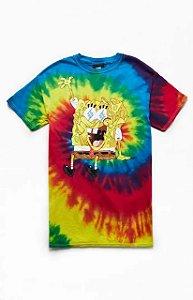 "SpongeBob x J.Balvin - Camiseta SquarePants ""Tie Dye"""