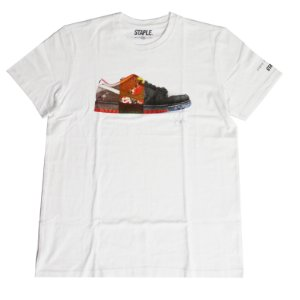 "STAPLE - Camiseta Nike Dunk Series ""Branco"" -NOVO-"
