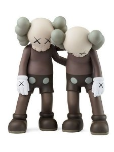 "KAWS - Boneco Along The Way ""Brown"""