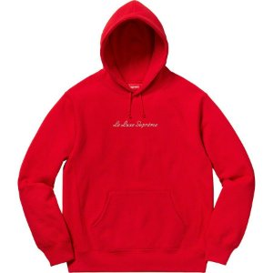 "SUPREME - Moletom Le Luxe ""Red"""
