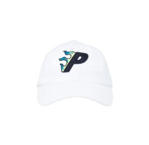"PALACE - Boné Flaming P 6 ""White"""