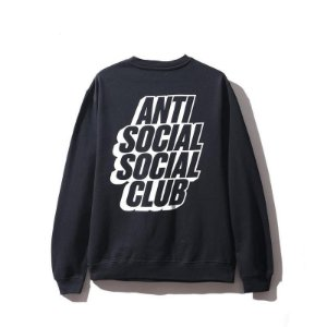 ANTI SOCIAL SOCIAL CLUB - Moletom Blocked ''Black''