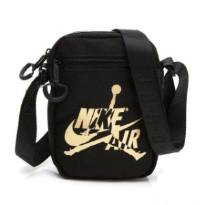 "NIKE - Bolsa Shoulder Jumpman Classic ""Black"""