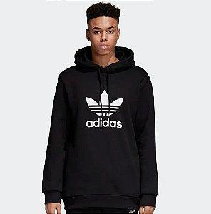 """adidas - Moletom Trefoil """"Black"""""""