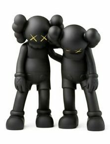 "KAWS - Boneco Along The Way ""Black"""