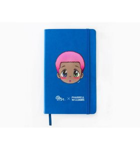 "Mr. x Pharrell Willians - Caderno ""Blue"""