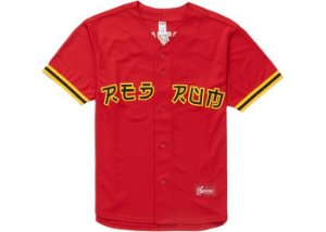 SUPREME - Camiseta Red Rum Baseball ''Red''