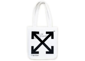 "Virgil Abloh x MCA Figures of Speech - Bolsa Tote  ""White"""