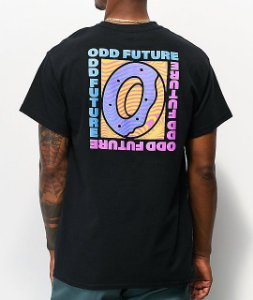 "ODD Future - Camiseta Trippy Box ""Black"""