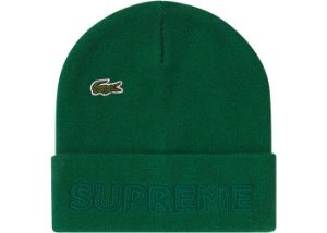 "Supreme x Lacoste - Touca Knit ""Green"""