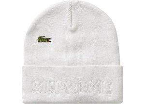 "Supreme x Lacoste - Touca Knit ""White"""