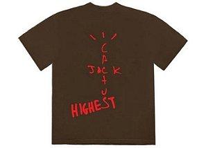 "TRAVIS SCOTT - Camiseta Jordan Jack Highest ""Brown"""