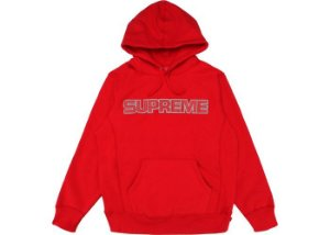 """SUPREME - Moletom Perforated """"Red"""""""